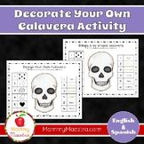 Bilingual Calavera Activity for Day of the Dead, Dia de los Muertos