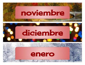 Bilingual Calendar / Calendario Bilingüe