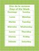 Bilingual Calendar Charts