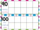 Bilingual Calendar Ten Frames (English and Spanish Word Form)