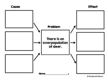 Bilingual Cause and Effect Environments (Causa  Efecto Medio Ambiente Ciencias)
