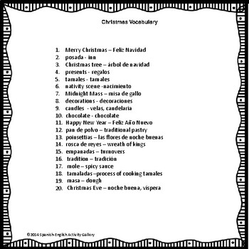 Christmas/La Navidad