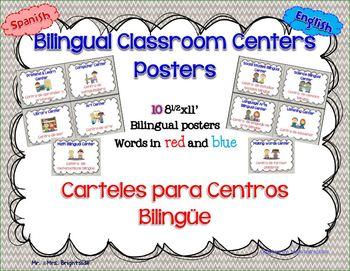 Dual Language Bilingual Centers * grey chevron *