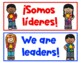 Bilingual Classroom Jobs (Spanish and English)