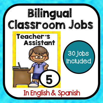 Bilingual Classroom Jobs in English & Spanish