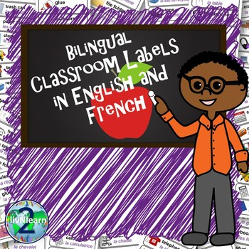 Bilingual Classroom Labels (French and English)