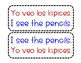 Bilingual Classroom Labels Spanish and English Complete Sentences
