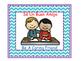 Bilingual Classroom Rules - Chevron Theme (Blue)