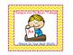 Bilingual Classroom Rules - Chevron Theme (Yellow)