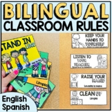 Bilingual Classroom Rules English-Spanish