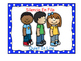 Bilingual Classroom Rules - Polka Dot Theme (Blue)