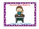Bilingual Classroom Rules - Polka Dot Theme (Purple)