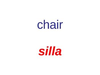Bilingual Classroom Signs