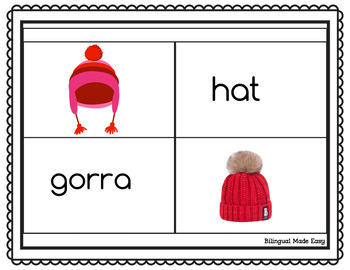 Bilingual Clothing Matching Game