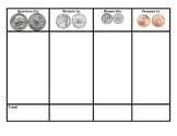 Bilingual Coin Value Chart