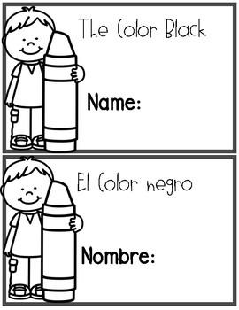 Bilingual Color Black Book