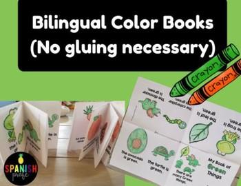 Bilingual Color Books (English and Spanish) Libros de los colores