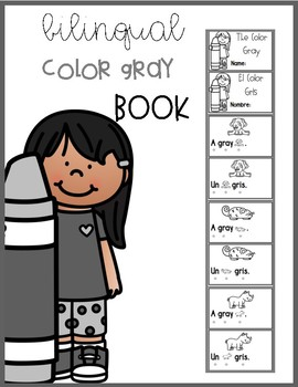 Bilingual Color Gray Book