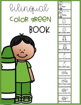 Bilingual Color Green  Book