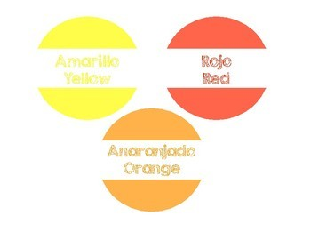 Bilingual Color Labels