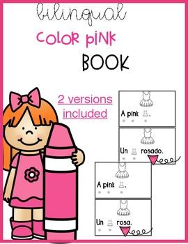 Bilingual Color Pink Book