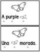 Bilingual Color Purple Book