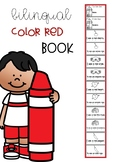 Bilingual Color Red  Book