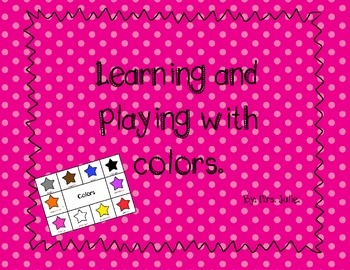 Bilingual Color bingo for pre-K