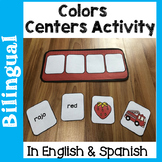 Bilingual Colors Centers Activities in English & Spanish