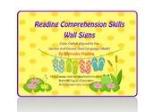 Bilingual Comprehension skills mini posters for the Dual L