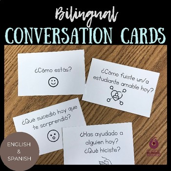 Bilingual Conversation Cards