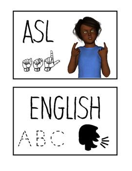 Bilingual Cue Card