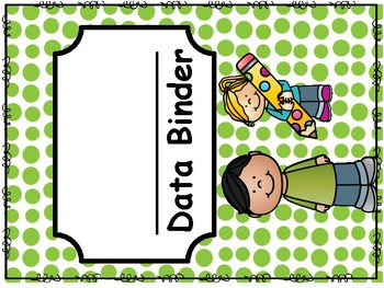 Bilingual Data Binder Cover and Assessment letter
