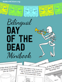 Bilingual Day of the Dead Minibook ~ English / Spanish
