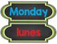 Bilingual Days of the Week - Calendar Set {Chalkboard Theme}