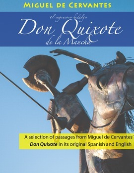 Bilingual Don Quixote by Miguel Cervantes Booklet