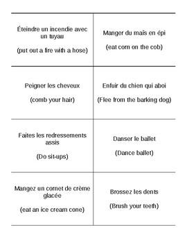 Bilingual Drama Warm up