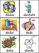 Bilingual Dual Language D'Nealian Silabas con Dd-- da de di do du