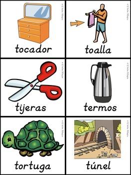 Bilingual Dual Language D'Nealian Silabas con Tt-- ta te ti to tu