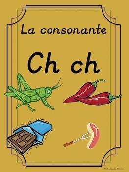 Bilingual Dual Language D'Nealian Silabas con Ch-- cha che