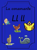 Bilingual Dual Language D'Nealian Silabas con Ll ll