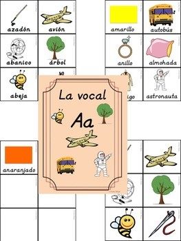 Bilingual Dual Language D'Nealian Vocal Aa