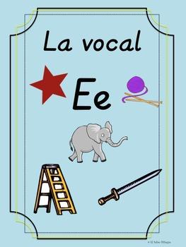 Bilingual Dual Language D'Nealian Vocal Ee