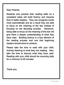 Bilingual Dual Language My Reading Log and Letter in Spanish and English