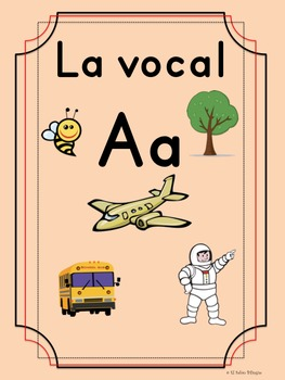 Bilingual Dual Language Print Vocal Aa