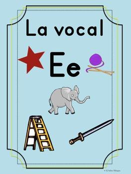 Bilingual Dual Language Print Vocal Ee