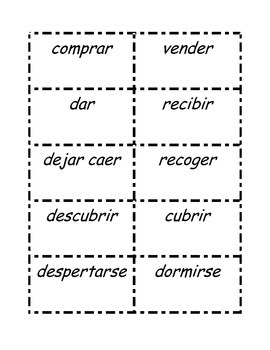 Bilingual / Dual Language / Spanish Antonyms Parts 1-3
