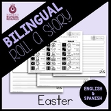 Bilingual Easter Roll a Story Activity
