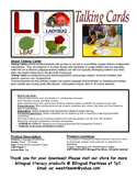 Bilingual English Alphabet Conversation Cards-Cheetah