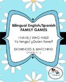 Bilingual English/Spanish Family Games